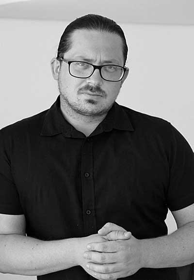 Portrait of Łukasz Wyrzykowski